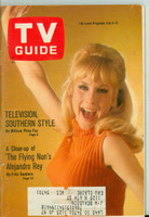 1968 TV Guide Jul 6 Barbara Eden of I Dream of Jeannie Minnesota State edition Very Good  [Sl loose at staples, lt wear, contents fine]