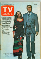 1973 TV Guide Feb 17 McMillan and Wife Oregon State edition Very Good - No Mailing Label  [Lt wear on cover, staple rust; contents fine]
