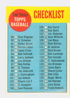 1963 Topps Baseball 102 b Checklist Two WHITE  Fair to Poor