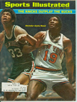 1970 Sports Illustrated April 27 Lew Alcindor and Willis Reed Lew Alcindor and Willis Reed Excellent