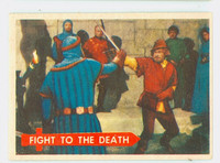 1957 Robin Hood 45 Fight to Death Excellent to Mint