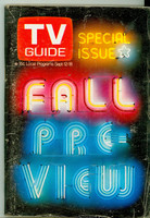1970 TV Guide September 12 Fall Preview Wisconson edition Very Good to Excellent - No Mailing Label  [Wear and creasing on cover; contents clean]