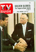 1967 TV Guide Jul 8 The FBI Eastern New England edition Excellent - No Mailing Label  [# WRT in logo; contents fine]