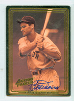 Bobby Doerr AUTOGRAPH Action Packed Red Sox 