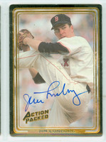 Jim Lonborg AUTOGRAPH Action Packed Red Sox 
