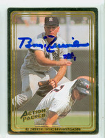 Bobby Richardson AUTOGRAPH Action Packed Yankees 