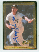 Bill Skowron AUTOGRAPH d.12 Action Packed Yankees 