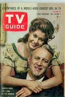 1963 TV Guide Oct 26 The Virginian NY Metro edition Very Good - No Mailing Label  [Sl loose at staples, cover creasing; contents fine]