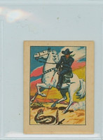 1951 Post Hopalong Cassidy 16 Hoppy Shoots a Rattlesnake Near-Mint