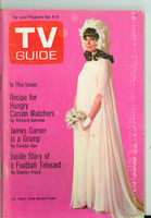 1968 TV Guide Nov 9 Barbara Feldon of Get Smart Eastern New England edition Very Good to Excellent - No Mailing Label  [Lt scuffing on cover; contents fine]