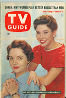 1960 TV Guide Jan 9 Father Knows Best Chicago edition Very Good to Excellent - No Mailing Label  [Lt wear on cover, ow clean]