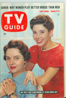 1960 TV Guide Jan 9 Father Knows Best Oregon State edition Excellent - No Mailing Label  [Lt wear on cover, year WRT in pencil in logo; ow clean]