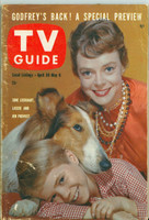 1960 TV Guide Apr 30 Lassie Colorado edition Very Good to Excellent - No Mailing Label  [Wear and scuffing on cover, contents fine]