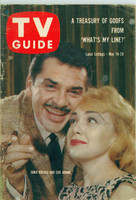 1960 TV Guide May 14 Ernie Kovacs and Edie Adams Colorado edition Very Good - No Mailing Label  [Wear and scuffing on cover, contents fine]