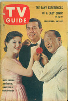 1960 TV Guide Jun 11 Cast of Bachelor Father Minnesota State edition Very Good - No Mailing Label  [Wear and scuffing on cover, contents fine]