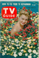 1960 TV Guide Aug 6 Ester Williams Illinois edition Very Good to Excellent - No Mailing Label  [Wear and creasing on cover, contents fine]