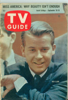 1960 TV Guide Sep 10 Dick Clark Southern Ohio edition Very Good to Excellent - No Mailing Label  [Lt wear on binding; contents fine]