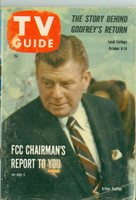 1960 TV Guide Oct 8 Arthur Godfrey Southern Ohio edition Good to Very Good - No Mailing Label  [Heavy surface wear on cover, spotting; wear along binding]