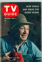 1959 TV Guide Mar 7 Walter Brennan of the Real McCoys Wisconson edition Very Good to Excellent - No Mailing Label  [Wear and creasing on cover, contents fine]