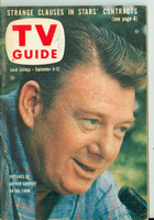1958 TV Guide Sep 6 Arthur Godfrey Lake Ontario edition Very Good to Excellent - No Mailing Label  [Lt wear and scuffing on cover, stray WRT on cover; contents fine]