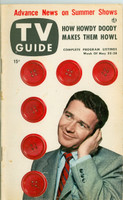 1953 TV Guide May 22 Red Buttons NY Metro edition Very Good  [Sl curl along binding, wear and lt toning on cover; label on reverse cover]
