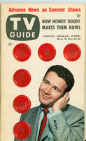 1953 TV Guide May 22 Red Buttons NY Metro edition Excellent  [Very lt wear and toning on cover, label on reverse cover]