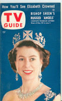 1953 TV Guide May 29 Queen Elizabeth Northwest edition Excellent to Mint - No Mailing Label  [Very clean example]