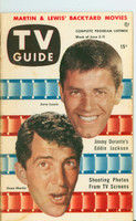1953 TV Guide Jun 5 Dean Martin and Jerry Lewis Mid States edition Very Good - No Mailing Label  [Toning on cover and along binding; contents fine]