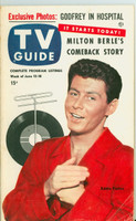 1953 TV Guide Jun 12 Eddie Fisher Chicago edition Very Good - No Mailing Label  [Toning on cover and along binding; contents fine]