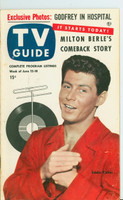 1953 TV Guide Jun 12 Eddie Fisher Iowa edition Very Good to Excellent  [Lt wear, toning along binding, Label stamped on reverse; TRI Cities]