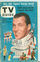 1953 TV Guide Jun 19 Ed Sullivan NY Metro edition Very Good  [Wear and scuffing on cover, contents fine]