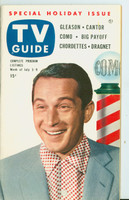 1953 TV Guide Jul 3 Perry Como Cincinnati-Dayton edition Excellent to Mint  [Very clean example, label on reverse]