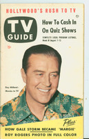 1953 TV Guide Aug 7 Ray Milland New England edition Very Good to Excellent  [Sl curl along binding, lt wear on cover; label on reverse, contents fine]