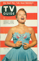 1953 TV Guide Aug 14 Patti Page Detroit edition Excellent  [Lt wear on cover, label on reverse; ow clean]