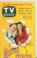 1953 TV Guide Aug 21 Super Circus ft: Mary Hartline Philadelphia edition Very Good - No Mailing Label  [Toning on cover and along binding; cover wear, stray WRT; contents fine]