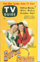 1953 TV Guide Aug 21 Super Circus ft: Mary Hartline Mid States edition Very Good to Excellent - No Mailing Label  [Lt wear and scuffing on cover, contents fine]