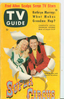 1953 TV Guide Aug 21 Super Circus ft: Mary Hartline Pittsburgh edition Excellent  [Lt wear on cover, ow clean; label on reverse]