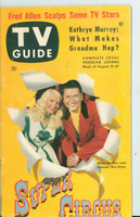 1953 TV Guide Aug 21 Super Circus ft: Mary Hartline Philadelphia edition Excellent - No Mailing Label  [Lt wear and toning on covers, stray pencil mark, ow clean]