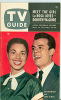 1953 TV Guide Nov 20 Julius LaRosa and Dorothy McGuire Illinois edition Excellent - No Mailing Label  [Lt wear on cover, ow clean]