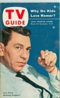 1953 TV Guide Dec 11 Jack Webb Philadelphia edition Very Good to Excellent - No Mailing Label  [Heavy toning on back cover, lt front cover wear, contents fine]