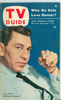 1953 TV Guide Dec 11 Jack Webb Illinois edition Very Good  [Wear and toning on both covers, contents fine]