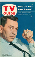 1953 TV Guide Dec 11 Jack Webb Chicago edition Excellent - No Mailing Label  [Lt wear on cover, ow clean]