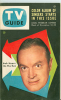 1953 TV Guide Dec 18 Bob Hope Chicago edition Excellent - No Mailing Label  [Lt wear on cover, ow clean]