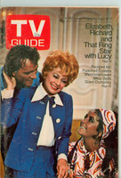 1970 TV Guide Sep 5 Lucille Ball with Elizabeth Taylor and Richard Burton Minnesota State edition Very Good - No Mailing Label  [Loose at the staples, wear and scuffing on cover; contents fine]