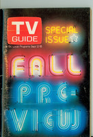 1970 TV Guide September 12 Fall Preview Washington-Baltimore edition Very Good to Excellent - No Mailing Label  [Scuffing and toning along binding, ow clean]