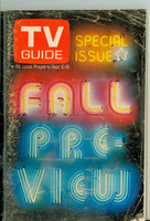 1970 TV Guide September 12 Fall Preview Colorado edition Good to Very Good - No Mailing Label  [Very heavy scuffing and creasing on cover; contents fine]