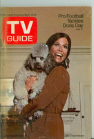1970 TV Guide Sep 19 Mary Tyler Moore Show (First Cover) Western Illinois edition Very Good - No Mailing Label  [Sl loose at the staples, lt moisture on cover, contents fine]