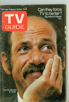 1970 TV Guide Oct 10 Arnie Cleveland edition Very Good - No Mailing Label  [Wear and creasing on cover, contents fine]