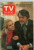 1971 TV Guide February 27 Hal Holbrook and Sharon Acker Iowa edition Very Good - No Mailing Label  [Very loose at staples, scuffing on cover; contents fine]