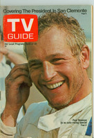 1971 TV Guide April 17 Paul Newman Eastern Illinois edition Very Good - No Mailing Label  [Loose at the staples, wear and scuffing on cover; contents fine]